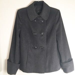 The Limited wool blend pea coat